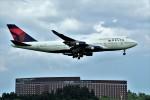 yoshibouさんが、成田国際空港で撮影したデルタ航空 747-451の航空フォト(写真)