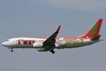 camelliaさんが、成田国際空港で撮影したティーウェイ航空 737-8Q8の航空フォト(写真)