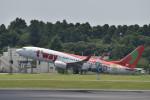 とりてつさんが、成田国際空港で撮影したティーウェイ航空 737-8HXの航空フォト(写真)