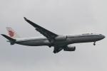 camelliaさんが、成田国際空港で撮影した中国国際航空 A330-343Xの航空フォト(写真)