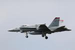 F-4さんが、茨城空港で撮影したアメリカ海兵隊 F/A-18C Hornetの航空フォト(写真)