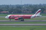 かずまっくすさんが、スカルノハッタ国際空港で撮影したエアアジア・インドネシア A320-216の航空フォト(写真)