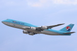 安芸あすかさんが、フランクフルト国際空港で撮影した大韓航空 747-8B5の航空フォト(写真)