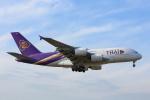 安芸あすかさんが、ロンドン・ヒースロー空港で撮影したタイ国際航空 A380-841の航空フォト(写真)