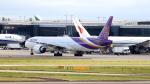 誘喜さんが、ロンドン・ヒースロー空港で撮影したタイ国際航空 777-3D7/ERの航空フォト(写真)