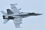 sepia2016さんが、茨城空港で撮影したアメリカ海兵隊 F/A-18C Hornetの航空フォト(写真)