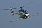 sepia2016さんが、千葉県東庄町で撮影したヘリサービス AS350B Ecureuilの航空フォト(写真)