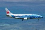 よっしぃさんが、新石垣空港で撮影した日本トランスオーシャン航空 737-4Q3の航空フォト(写真)