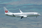 よっしぃさんが、新石垣空港で撮影した日本トランスオーシャン航空 737-8Q3の航空フォト(写真)