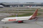 安芸あすかさんが、クアラルンプール国際空港で撮影したマリンド・エア 737-8GPの航空フォト(写真)