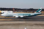 Gyoza_さんが、成田国際空港で撮影したキャセイパシフィック航空 747-867F/SCDの航空フォト(写真)