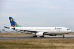 安芸あすかさんが、フランクフルト国際空港で撮影したナミビア航空 A330-243の航空フォト(写真)