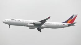 誘喜さんが、香港国際空港で撮影したフィリピン航空 A340-313の航空フォト(写真)