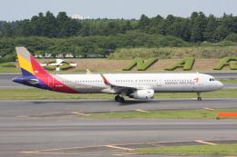 いっとくさんが、成田国際空港で撮影したアシアナ航空 A321-231の航空フォト(写真)