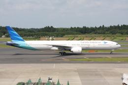 いっとくさんが、成田国際空港で撮影したガルーダ・インドネシア航空 777-3U3/ERの航空フォト(写真)