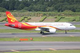いっとくさんが、成田国際空港で撮影した香港航空 A320-214の航空フォト(写真)