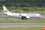 いっとくさんが、成田国際空港で撮影したJALエクスプレス 737-846の航空フォト(写真)