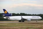 安芸あすかさんが、フランクフルト国際空港で撮影したルフトハンザ・カーゴ MD-11Fの航空フォト(写真)