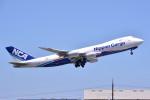 トロピカルさんが、成田国際空港で撮影した日本貨物航空 747-8KZF/SCDの航空フォト(写真)