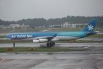 ほわいトさんが、成田国際空港で撮影したエア・タヒチ・ヌイ A340-313Xの航空フォト(写真)