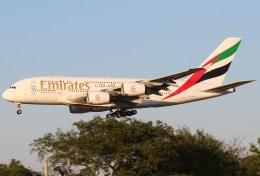 Runway747さんが、成田国際空港で撮影したエミレーツ航空 A380-861の航空フォト(写真)