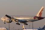 Runway747さんが、成田国際空港で撮影したカタール航空 777-2DZ/LRの航空フォト(写真)