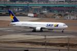 ansett767ksさんが、福岡空港で撮影したスカイマーク 767-3Q8/ERの航空フォト(写真)