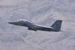 じゃまちゃんさんが、ネリス空軍基地で撮影したアメリカ空軍 F-15E-52-MC Strike Eagleの航空フォト(写真)