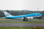 どりーむらいなーさんが、成田国際空港で撮影したKLMオランダ航空 747-406Mの航空フォト(写真)