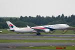 どりーむらいなーさんが、成田国際空港で撮影したマレーシア航空 A330-323Xの航空フォト(写真)