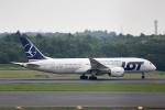 どりーむらいなーさんが、成田国際空港で撮影したLOTポーランド航空 787-8 Dreamlinerの航空フォト(写真)