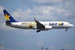 さくらの城南山。さんが、羽田空港で撮影したスカイマーク 737-86Nの航空フォト(写真)