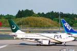 菊池 正人さんが、成田国際空港で撮影したパキスタン国際航空 A310-308の航空フォト(写真)