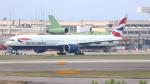 誘喜さんが、ロンドン・ヒースロー空港で撮影したブリティッシュ・エアウェイズ 777-36N/ERの航空フォト(写真)