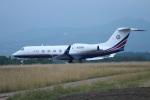 Tomochanさんが、函館空港で撮影したユタ銀行 G-IV-X Gulfstream G450の航空フォト(写真)