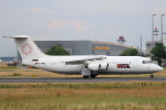 安芸あすかさんが、フランクフルト国際空港で撮影したWDLアヴィエーション BAe-146-300の航空フォト(写真)