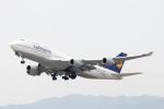 どりーむらいなーさんが、関西国際空港で撮影したルフトハンザドイツ航空 747-430の航空フォト(写真)