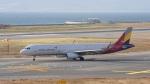 てつさんが、関西国際空港で撮影したアシアナ航空 A321-231の航空フォト(写真)