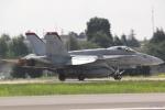 湖景さんが、茨城空港で撮影したアメリカ海兵隊 F/A-18C Hornetの航空フォト(写真)