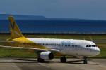 ocean falconさんが、奄美空港で撮影したバニラエア A320-214の航空フォト(写真)