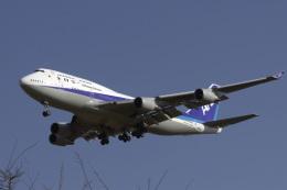 senyoさんが、成田国際空港で撮影した全日空 747-481の航空フォト(写真)
