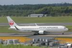 meijeanさんが、成田国際空港で撮影した日本航空 767-346/ERの航空フォト(写真)