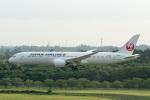 sg-driverさんが、成田国際空港で撮影した日本航空 787-9の航空フォト(写真)