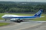 kansaigroundさんが、成田国際空港で撮影した全日空 747-481の航空フォト(写真)