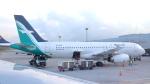 誘喜さんが、シンガポール・チャンギ国際空港で撮影したシルクエア A320-233の航空フォト(写真)