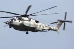 isiさんが、厚木飛行場で撮影した海上自衛隊 MH-53Eの航空フォト(写真)