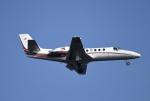 こむぎさんが、羽田空港で撮影した読売新聞 560 Citation Encore+の航空フォト(写真)