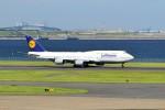 left eyeさんが、羽田空港で撮影したルフトハンザドイツ航空 747-830の航空フォト(写真)