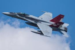 Tomo-Papaさんが、茨城空港で撮影したアメリカ海兵隊 F/A-18C Hornetの航空フォト(写真)