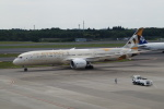 taka2217さんが、成田国際空港で撮影したエティハド航空 787-9の航空フォト(写真)